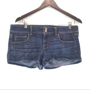 American Eagle Flap Pocket Denim Jean Short Shorts